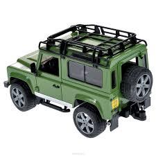 land rover bruder купить bruder внедорожник land rover defender цвет зеленый