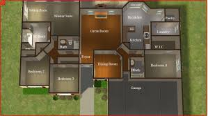 3 Bedroom 2 Bathroom Sims 2 Lot Downloads July 2011