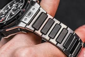 hublot gold bracelet images Hublot big bang unico watch with bracelet hands on ablogtowatch jpg