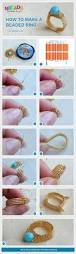 25 unique beaded rings ideas on pinterest diy beaded rings how