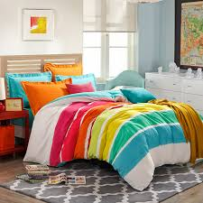 Teen Bedding And Bedding Sets by Colorful Rainbow Orange Tartan Bedding Stripes And Plaids Bedding