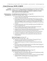 nursing career objective exles social work resume objective exles