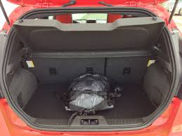 nissan micra luggage capacity 2014 ford fiesta st u2013 a small car with a big attitude ecolodriver