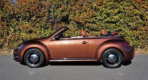 volkswagen brown 2017 volkswagen beetle convertible classic road test review