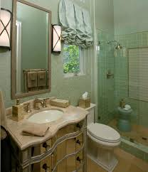 Guest Bathroom Decor Guest Bathroom Decor Ideas With Glass Bath Vanity With Drawers And