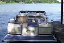 freedom line of pontoon boat seats and pontoon boat furniture