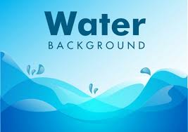 water background blue wave ornament free vector in adobe