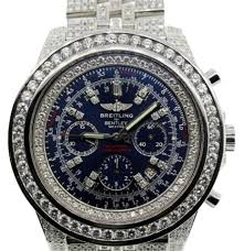 breitling bentley back mens breitling bentley motors 6 75 mm 50 mm genuine diamond watch