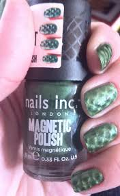 review nails inc fishnet magnetics polishes in piccadilly and