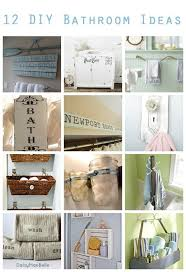 12 diy bathroom ideas u2013 home and garden