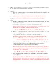 genetic mutation worksheet answers worksheets