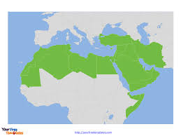 Blank Map Of North Africa by Free Mena Editable Map Free Powerpoint Templates