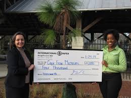 cape fear museum awarded international paper grant for trees and