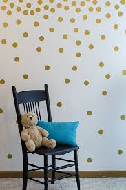 gold wall decal dots 200 decals easy to peel easy to stick