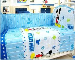 Mickey Mouse Crib Bedding Sets Mickey Mouse Crib Bedding Set Baby S Disney Baby Mickey Mouse Best