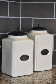 Design For Kitchen Canisters Ceramic Ideas 21 Best Diy Canister Ideas Images On Pinterest Diy At Home And