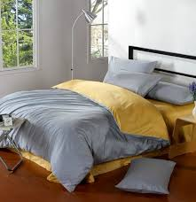 yellow and grey bedding set home design ideas