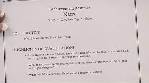 Achievement Resume The Best Resume Writing Services Usa Resume Services Review
