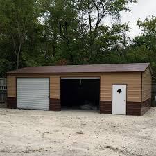 metal garages steel garage metal buildings for sale midwest