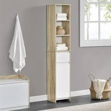 bathroom corner storage cabinet wayfair
