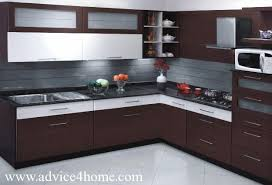 L Shaped Modern Kitchen Designs by Imposing On Kitchen Simply Home Design And Interior