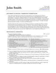 Sample Marketing Resume Click Here To Download This Marketing Coordinator Resume Template