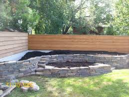 Backyard Raised Garden Ideas Build Raised Garden Bed Along Fence Home Outdoor Decoration