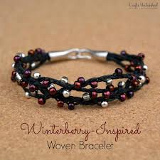 make beaded bracelet images Diy beaded charm bracelet with wire crimp beads clasps how to make jpg