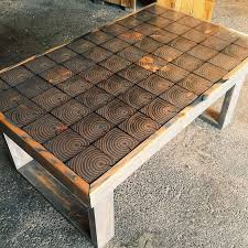 reclaimed wood coffee tables writehookstudio