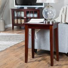 Accent Table L Espresso Coffee Table Metal Glass With Chairs Underneath