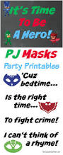 Free Printable Halloween Tags For Gift Bags by Pj Masks Birthday Party Ideas And Free Printables The Suburban Mom