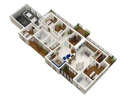 Home Layout Master Design 4 Bedroom Apartment House Plans