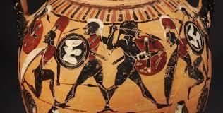 Greek Black Figure Vase Painting Greek Vases Attic Black Figure