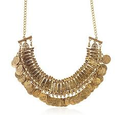 coin necklace gold images Gold coin necklace jpg