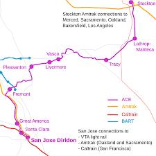 Light Rail Map San Jose by Ace Portal