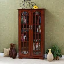 Bookshelves Cherry by Cherry Bookcase With Doors Foter