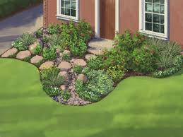 large size low maintenance landscaping ideas for front yard gif of