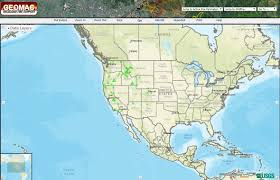 A Picture Of The Map Of The United States by Point And Click To Track Wildfire Activity In The United States