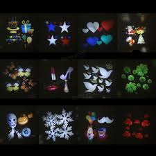 christmas window projection dvd 12 types christmas film pattern for led moving laser projector