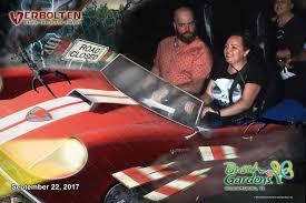 Busch Gardens Williamsburg Fall Fun Card - busch gardens williamsburg howl o scream 2017 the lady in the