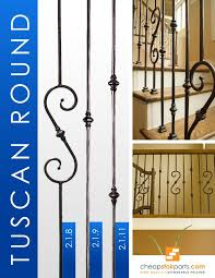 36 best tuscan round hammered iron baluster stair patterns images