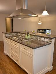 stove island kitchen stove covers for counter space concrete countertops the