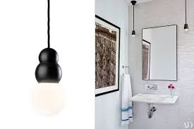home decor ideas bathroom lighting photos architectural digest