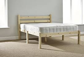 short double bed 4ft x 5ft 9 includes 20cm quilted sprung