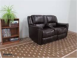 thomas payne rv dual reclining sofa w center console majestic