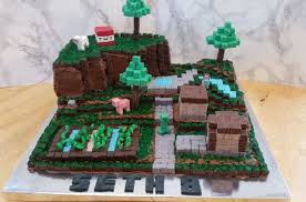 mindcraft cakes howtocookthat cakes dessert chocolate epic minecraft cake