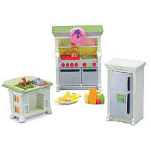 loving family kitchen furniture fisher price loving family dollhouse premium decor furniture set