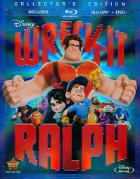 wreck ralph 2 discs blu ray dvd english french spanish