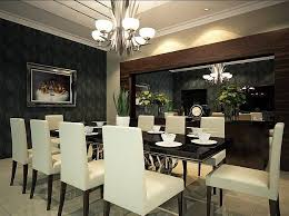 Awesome Dining Room Decorating Ideas Modern Photos Home Design - Modern dining room decoration