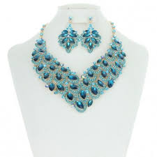 bib necklace rhinestone images Royalty style rhinestone bib necklace with earrings set mez8184 jpg